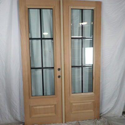 "60"" Front Double Door Slab Set  - Hybrid"